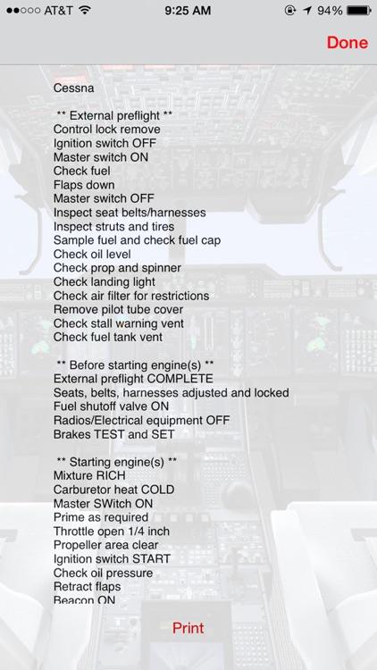Pilots Checklist screenshot-4