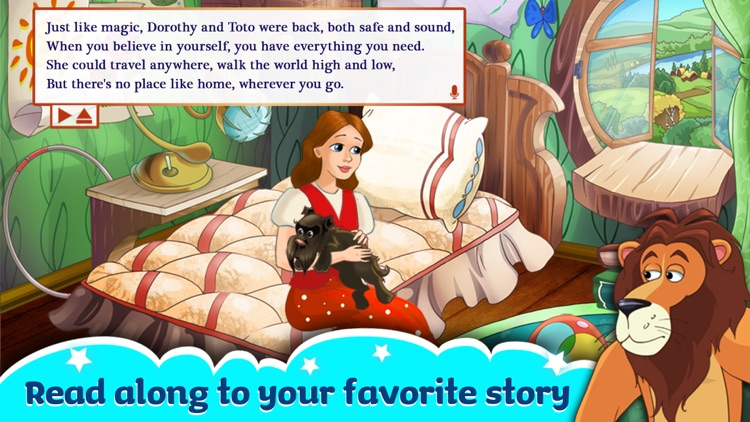 The Wizard Of Oz -  All In One Education Center & Interactive Storybook for Kids screenshot-4
