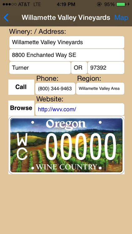 Oregon Winery Finder screenshot-3