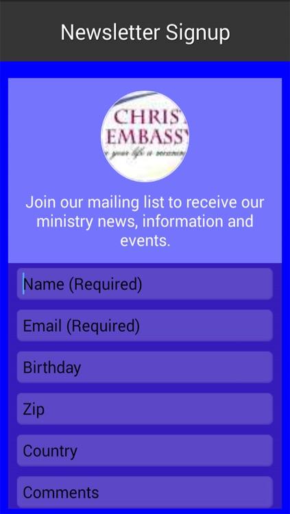 Christ Embassy Texas screenshot-4