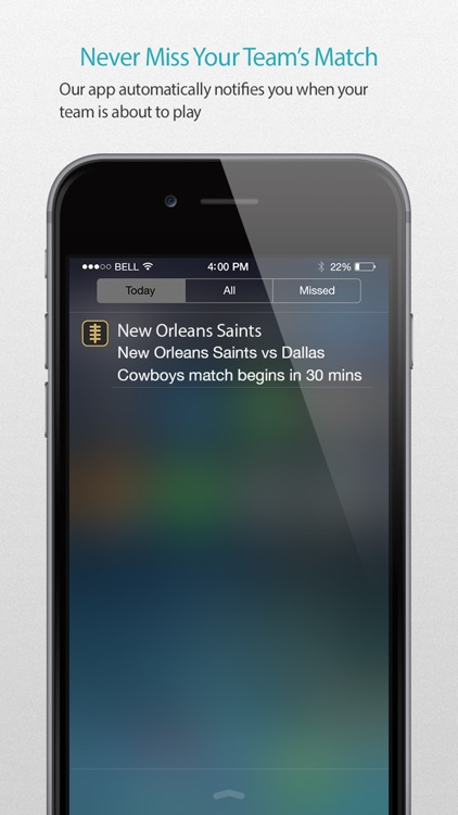 New Orleans Football Alarm Pro