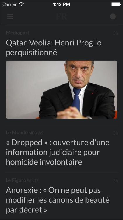 Journaux FR - Les journaux les plus importants en France screenshot-4