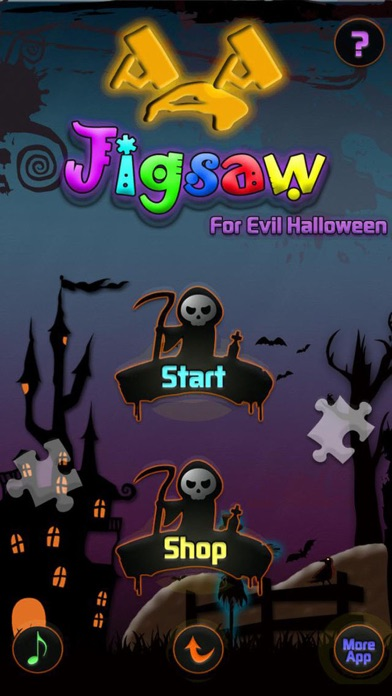 AAA Jigsaw for evil halloween screenshot two