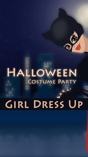 Halloween-Kostüm-Party-Mädchen Verkleiden Sich Pro - spiele ...