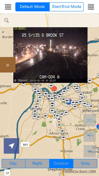 Kentucky Offline Map & Navigation & POI with Real Time Traffic Cameras Pro