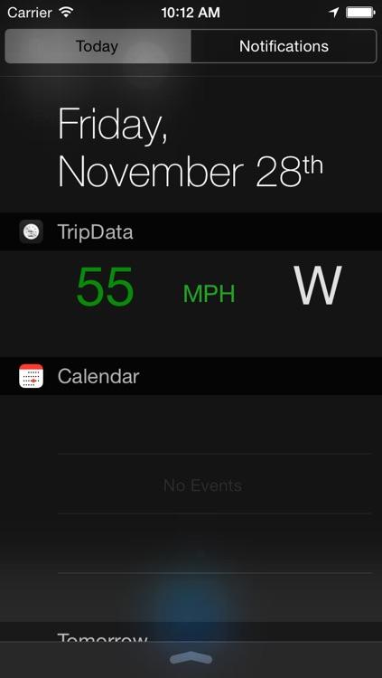 Trip Data - Speedometer and Trip Computer screenshot-3