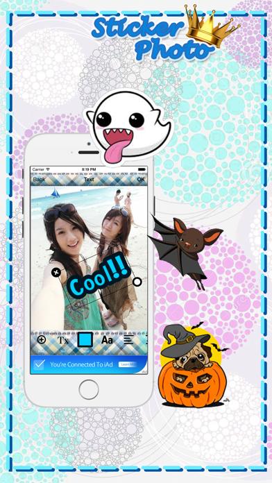 PhotoStar Sticker 2 : Fun Photo Editor screenshot three