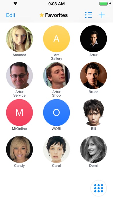 iCaller - T9 search contacts Screenshots