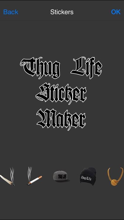 Thug Life Sticker Maker - Photo Editor - Photo Maker