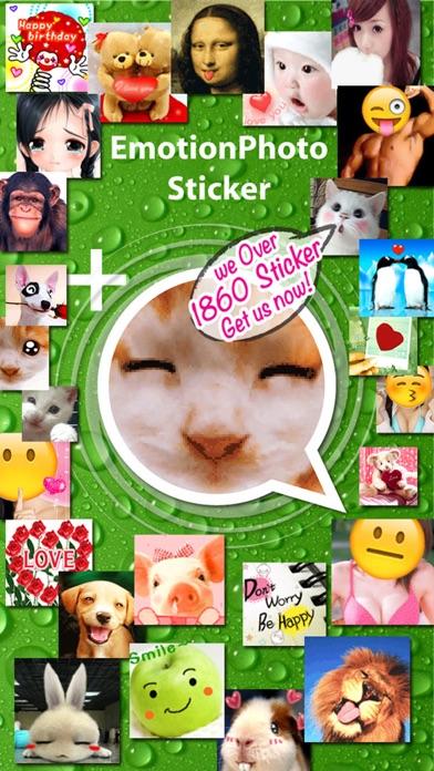 Stickers+ Fun Emotion Gif Photo for Messengerのおすすめ画像1