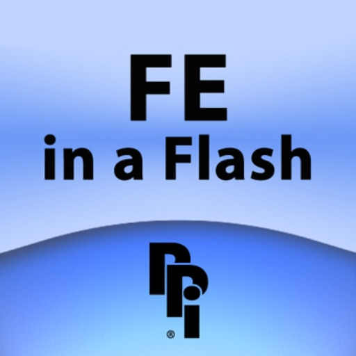 Fundamentals of Engineering in a Flash: Rapid Review of Key Topics for the FE/EIT Exam icon