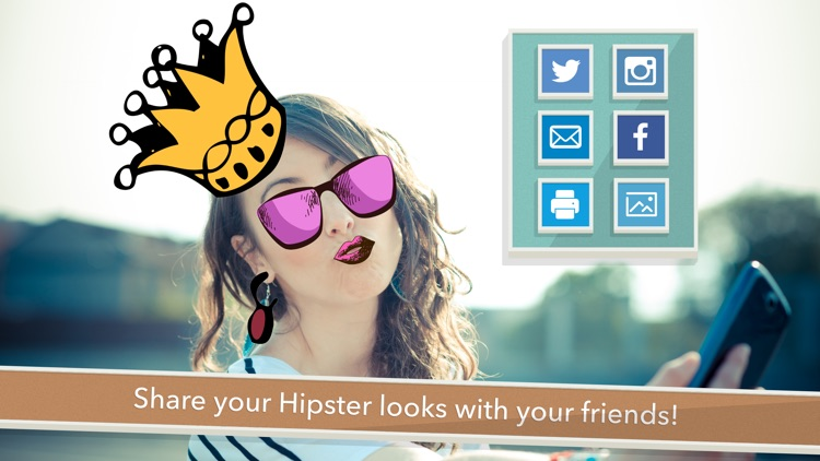 A Hipster Guy Photo Booth FREE - The Cool Effects Stickers for your Pictures screenshot-3