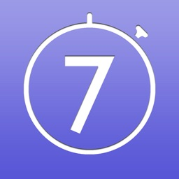 Lucky Seven: 7-Minute Workout Pro Challenge Musical Interval Timer  with RunKeeper Integration & more