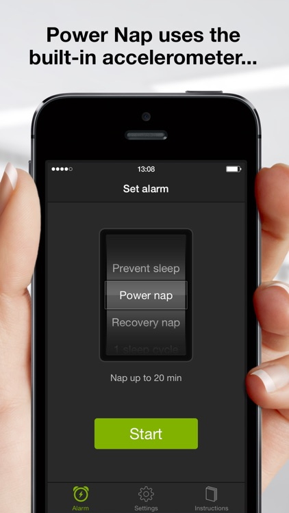 Sleep Cycle power nap