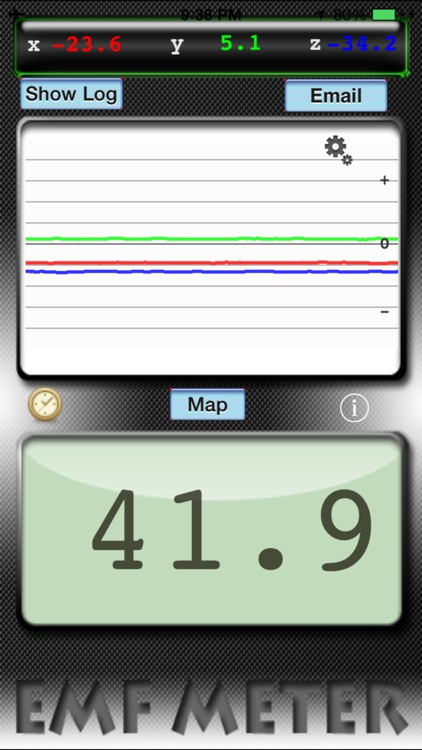 EMF Meter Free Utility for iPod, iPhone