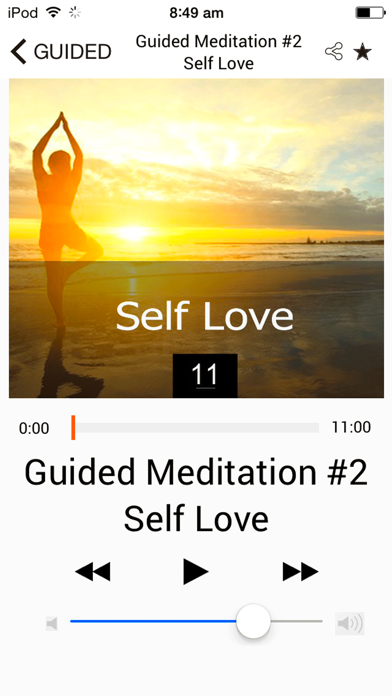 Mindfulness & Guided Meditations screenshot three