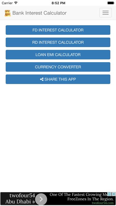 点击获取Bank Interest Calculator