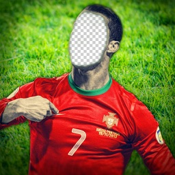 Face Change.r for Euro Cup 2016 - Cut & Swap Faces in Football Picture Hole to Support National Team