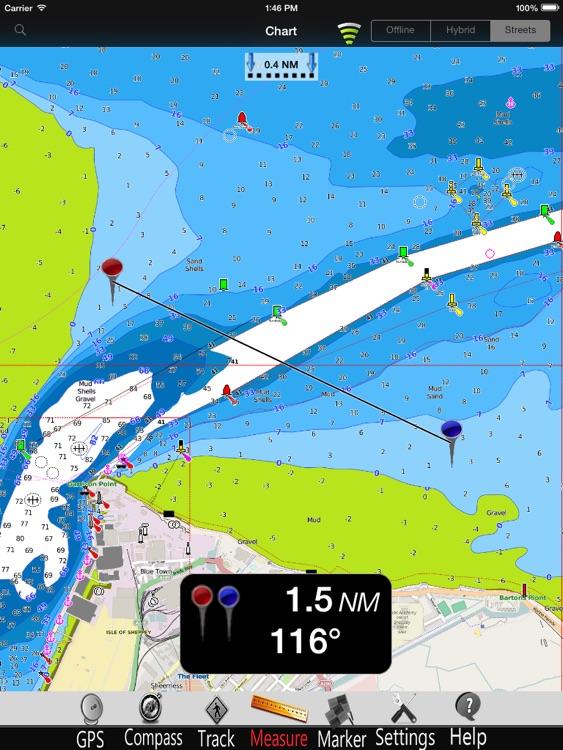 London Thames GPS Chart Pro screenshot-3