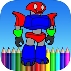 Activities of Robot Coloring Book For Kids