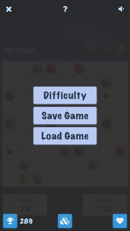 Color Lines 98 Premium - Classic Board Games screenshot-3