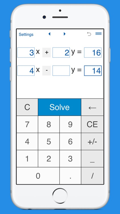 System of linear equations solver and calculator
