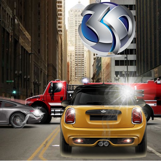 Amazing Drive Traffic 3D - City Driving Strike Simulator icon