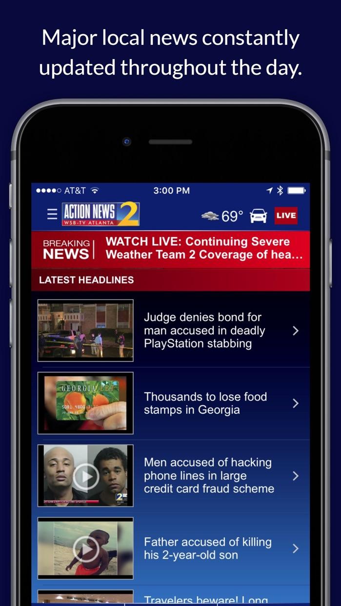 WSB-TV News Screenshot