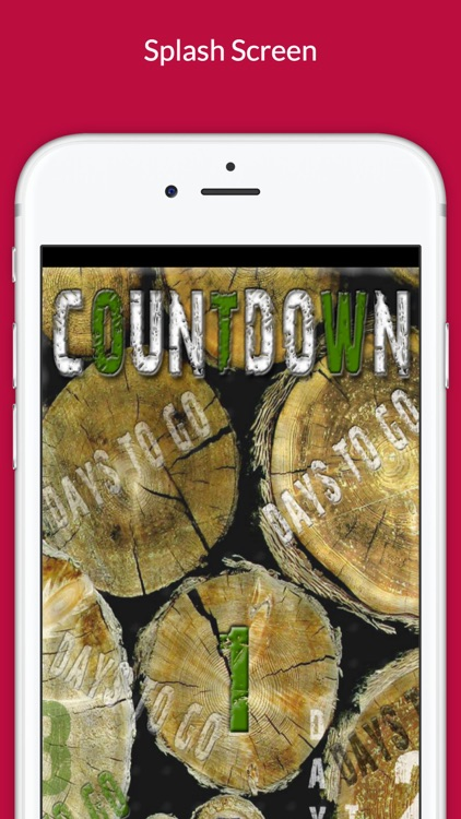 The Countdown App....Days to go...