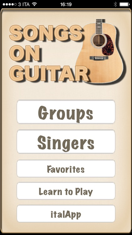 Songs On Guitar - learn to play your favorite songs
