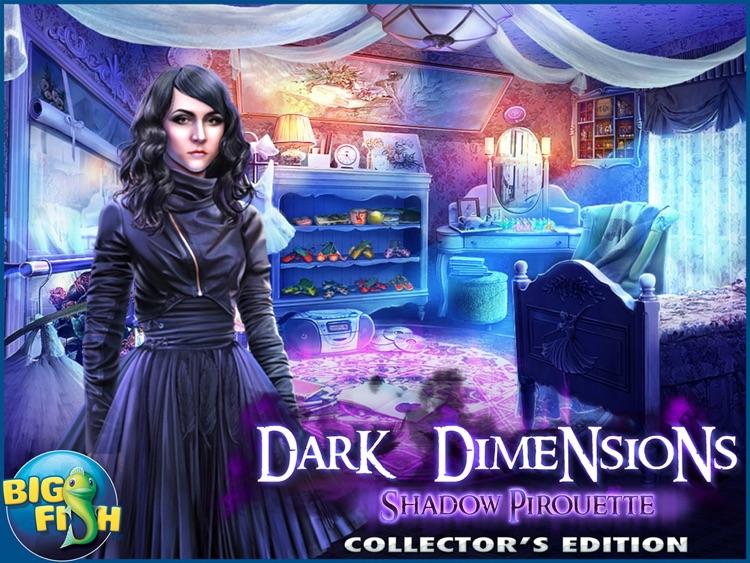Dark Dimensions: Shadow Pirouette HD - A Scary Hidden Object Game screenshot-4