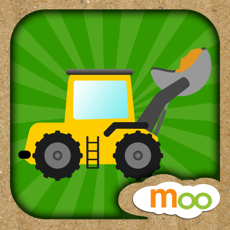 Activities of Construction Vehicles - Digger, Loader Puzzles, Games and Coloring Activities for Toddlers and Presc...