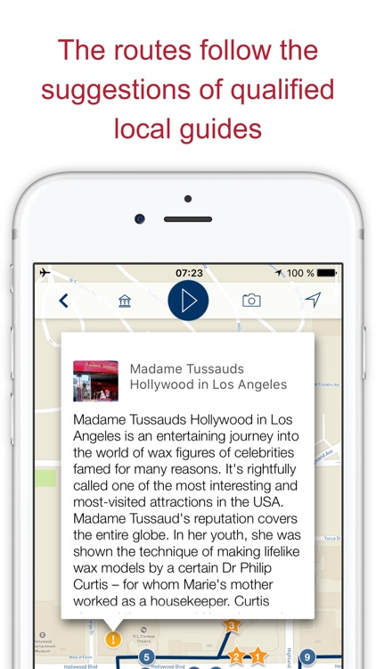 Los Angeles my guide with audio walks & map (USA) screenshot-4