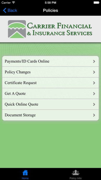 Carrier Financial & Insurance Services