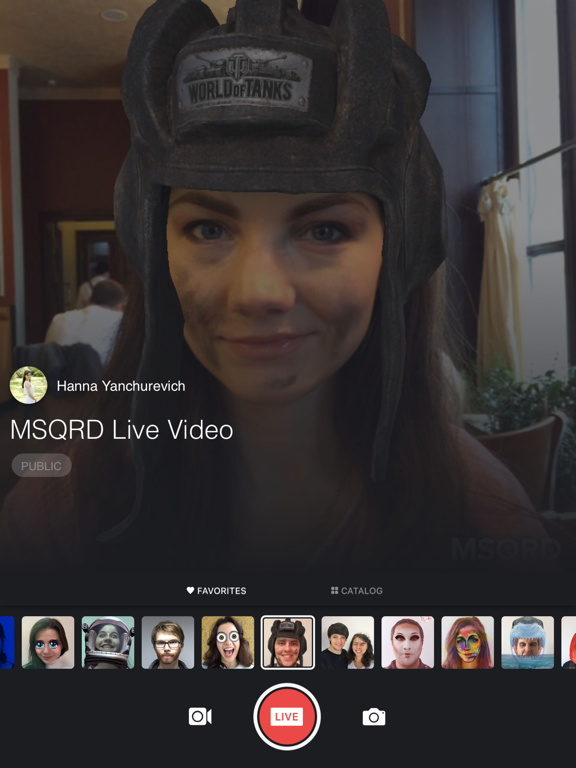 MSQRD — Live Filters & Face Swap for Video Selfies-ipad-1