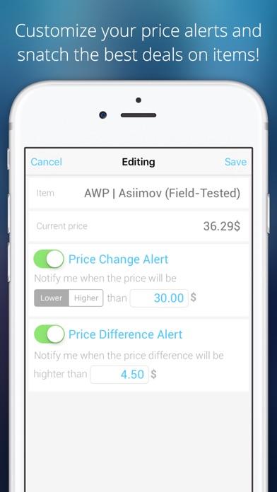 App for STEAM Community Market Screenshot