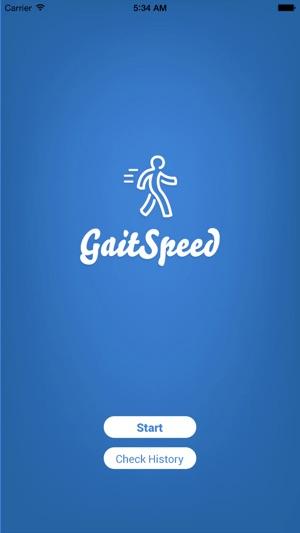 Gait Speed Screenshot