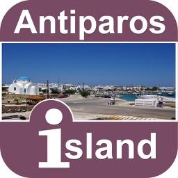 Antiparos Island Offline Map Travel Guide
