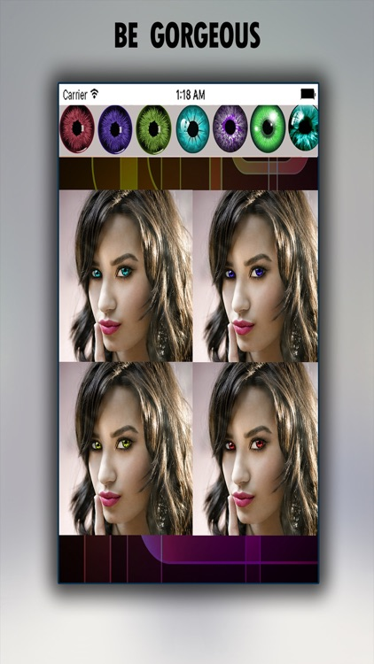 Eye Color Photo Editor - Colorful Pupil Effects and Eyes