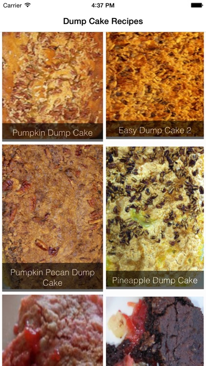 Dump Cake Recipes