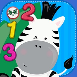 Toddler Zoo World Count and Touch – 123s counting playtime for preschool kids