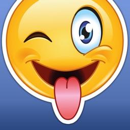 Big Emoji Stickers - Extra Funny Sticker Emojis for Messages & Texting