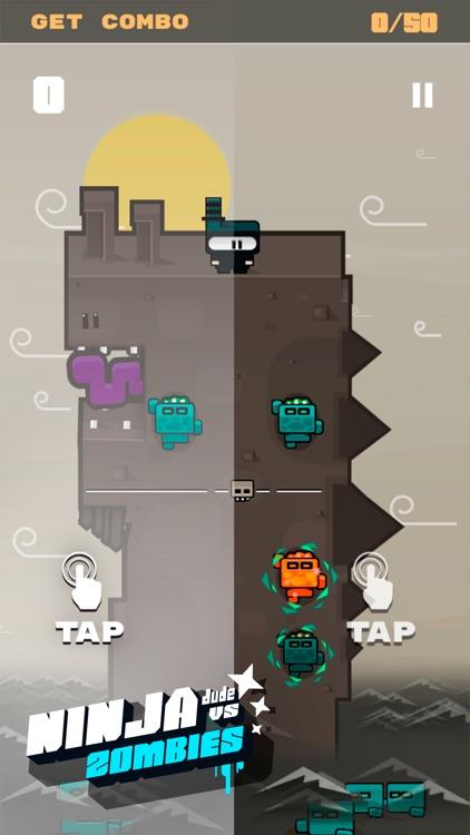 Ninja Dude vs Zombies - endless tap 'n' slash zombie arcade game