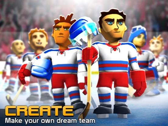Big Win Hockey на iPad