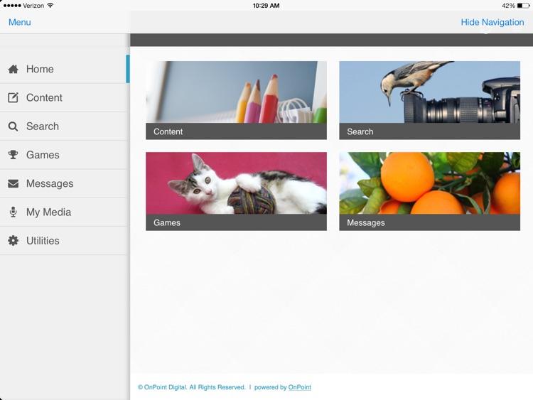 CellCast App for iPad