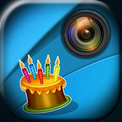 Frame Photos and Add Stickers with Happy Birthday Themes in Picture Editor