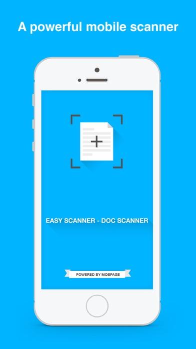 Easy Scanner - Document Scanner screenshot one