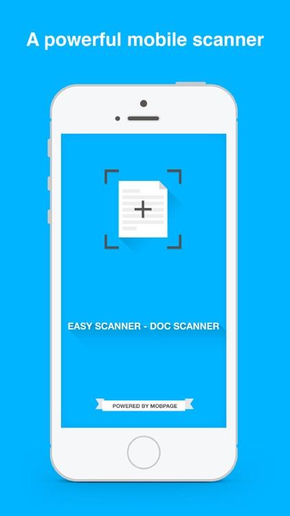 Easy Scanner - Document Scanner screenshot-0