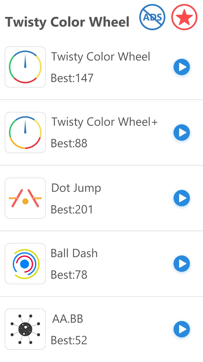 Twisty Color Wheel - Match the Arrow to Crazy Spinny Circle Screenshot