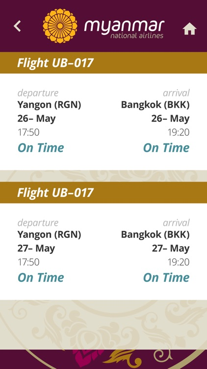 Myanmar National Airlines screenshot-3
